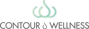 Contour & Wellness Mobile Logo